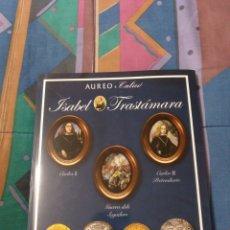 Catálogos e Livros de Moedas: SUBASTA AUREO CALICO 2017 ISABEL DE TRASTAMARA 136 PÁGINAS TAPAS DURAS. Lote 243651570