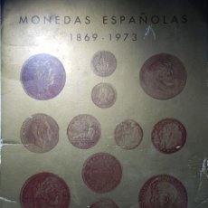 Catálogos y Libros de Monedas: MONEDAS ESPAÑOLAS 1869-1973 JOSÉ A. VICENTI VIII EDICIÓN 1973. Lote 244998725
