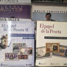 Catálogos y Libros de Monedas: EL PAPEL DE LA PESETA 1 Y 2 EL PAÍS 2 TOMOS. Lote 246069075
