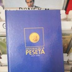 Catálogos y Libros de Monedas: HISTORIA DE LA PESETA ABC 1869/2001 SANTANDER. Lote 246069490