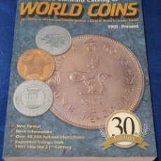 Catálogos e Livros de Moedas: WORLD COINS - CATÁLOGO 1901 / 2003. Lote 249234245