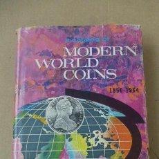 Catálogos y Libros de Monedas: MODERN WORLD COINS- 1850 A 1964...PUBLICADO EN 1967- AUTOR R.S. YEOMAN...508 PGS. EN INGLES.. Lote 252573195