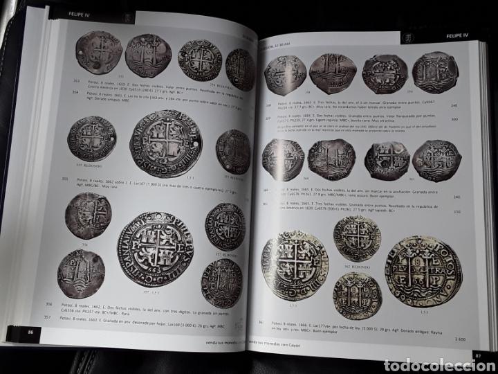 Catálogos y Libros de Monedas: CATALOGO SUBASTA CAYON. FEBRERO 2012. IMPORTANTISIMA COLECCION DUROS ESPAÑOLES Y MONEDAS DE IMPERIO - Foto 2 - 254031700