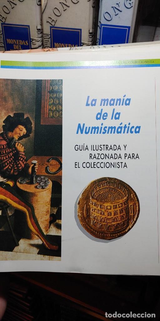 Catálogos y Libros de Monedas: 5 LIBROS DE COLECCIÓN MONEDAS DEL MUNDO DE ORBIS-FABBRI, pymy tc - Foto 3 - 255940940