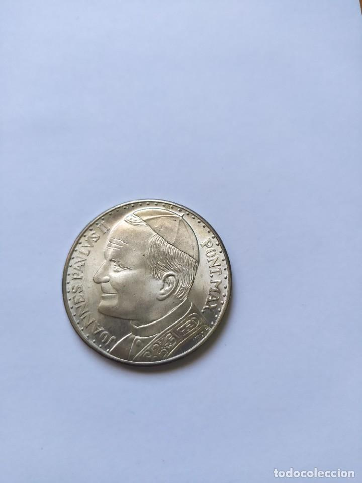 Catálogos y Libros de Monedas: Moneda de plata. Viaje conmemorativo Juan Pablo II a España - Foto 5 - 255952720