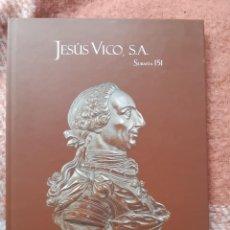 Catálogos y Libros de Monedas: JESÚS VICO 2018 SUBASTA COLECCION CORES PARTE IV. Lote 257487350