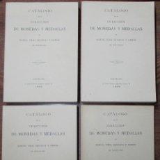 Catálogos y Libros de Monedas: CATALOGO DE LA COLECCION DE MONEDAS Y MEDALLAS DE MANUEL VIDAL QUADRAS Y RAMON. LOTE 0050. Lote 257584605