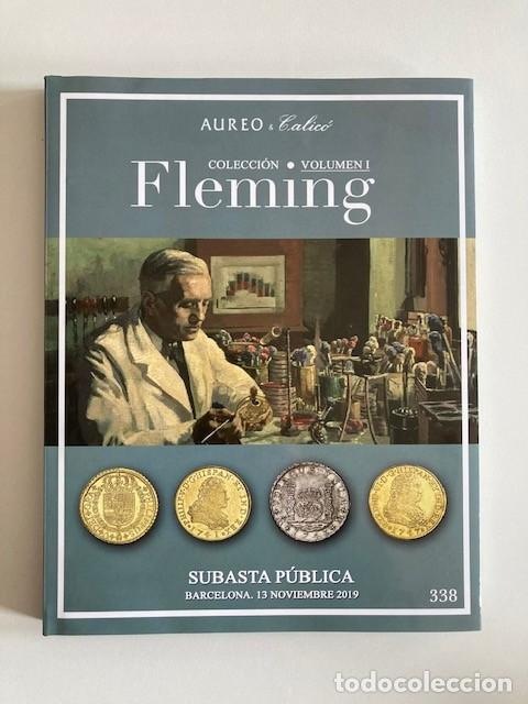 COLECCIÓN FLEMING VOLUMEN I AUREO&CALICO PERFECTO ESTADO (Numismática - Catálogos y Libros)