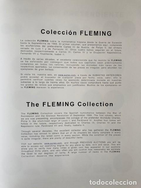 Catálogos y Libros de Monedas: COLECCIÓN FLEMING VOLUMEN I AUREO&CALICO PERFECTO ESTADO - Foto 2 - 258114635