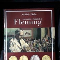 Catálogos y Libros de Monedas: CATALOGO SUBASTA AUREO JUNIO 2021.COLECCIÓN FLEMING.VOL.III.. Lote 261832200