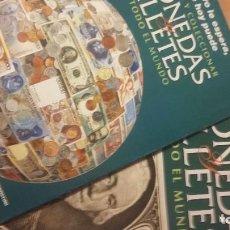Catálogos y Libros de Monedas: MONEDAS Y BILLETES DE TODO EL MUNDO. FOLLETO DE PRESENTACIÓN Y PRIMERAS HOJAS. PLANETA DEAGOSTINI. Lote 261873305
