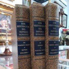 Catálogos e Livros de Moedas: LOS SESTERCIOS DEL IMPERIO ROMANO - J.R. CAYON. Lote 262761255