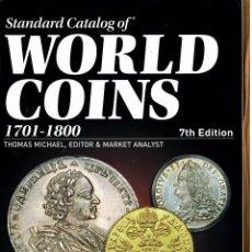 Catálogos y Libros de Monedas: CATALOGO KRAUSE WORLD COINS 1701/1800 ED. 2019. Lote 262956295