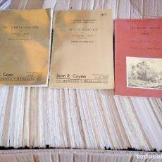 Catálogos y Libros de Monedas: COLECCIÓN MÁS DE 120 CATÁLOGOS DE NUMISMÁTICA DE JUAN R. CAYÓN. Lote 263064785