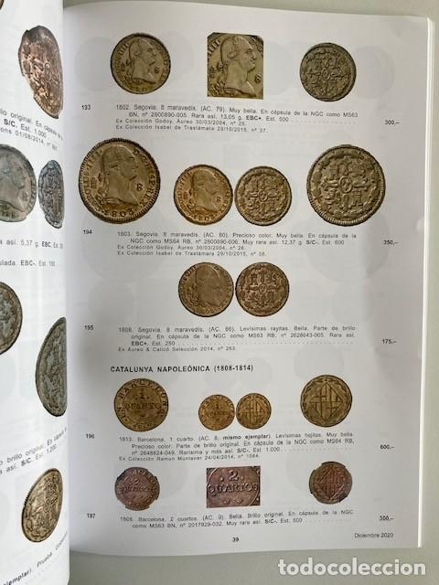 Catálogos y Libros de Monedas: AUREO COLECCIÓN ELARIZ - Foto 3 - 264206968