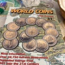 Catálogos y Libros de Monedas: LIBRO WORLD COINS. Lote 265849874