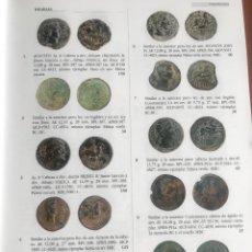 Catálogos e Livros de Moedas: CATÁLOGO JESÚS VICO 159 20-07-2021 COLECCIÓN GUADÁN HISPANIA ROMA GRIEGOS VISIGODOS MODERNA. Lote 275019648