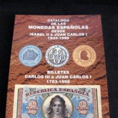 Catálogos e Livros de Moedas: CATÁLOGO DE LAS MONEDAS ESPAÑOLAS DESDE ISABEL II A JUAN CARLOS I (1833-1998) HERMANOS GUERRA. Lote 275112848
