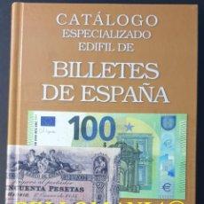 Catálogos e Livros de Moedas: CATALOGO ESPECIALIZADO EDIFIL BILLETES DE ESPAÑA ULTIMA EDICION 2021 TC23932. Lote 275931068