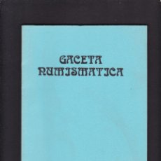 Catálogos y Libros de Monedas: GACETA NUMISMATICA - Nº 82 / III-86 - SEPTIEMBRE 1986. Lote 277586273