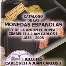 Cataloghi e Libri di Monete: CATALOGO DE LAS MONEDAS ESPAÑOLAS Y DE LA UNION EUROPEA. HNOS. GUERRA. 2009.. Lote 286704863