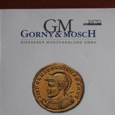 Catálogos y Libros de Monedas: CATÁLOGO GORNY & MOSCH SUBASTA 280 11-10-2021 MONEDA GRIEGA Y ROMANA. Lote 287866223