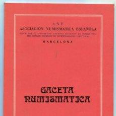 Catálogos y Libros de Monedas: GACETA NUMISMATICA NUMERO 47 AÑO 1977 ( CAT52 ). Lote 295552408