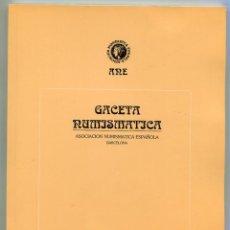 Catálogos y Libros de Monedas: GACETA NUMISMATICA NUMERO 110 AÑO 1993 ( CAT58 ). Lote 295552813