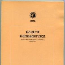 Catálogos y Libros de Monedas: GACETA NUMISMATICA NUMERO 112 AÑO 1994 ( CAT59 ). Lote 295552848