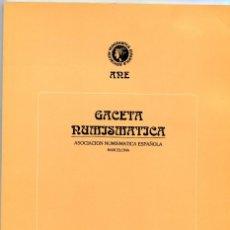 Catálogos y Libros de Monedas: GACETA NUMISMATICA NUMERO 114 AÑO 1994 ( CAT61 ). Lote 295552903