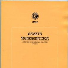 Catálogos y Libros de Monedas: GACETA NUMISMATICA NUMERO 115 AÑO 1994 ( CAT62 ). Lote 295552928