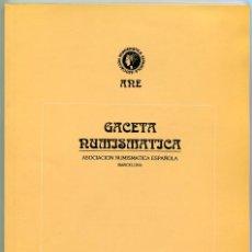 Catálogos y Libros de Monedas: GACETA NUMISMATICA NUMERO 116 AÑO 1995 ( CAT63 ). Lote 295552938