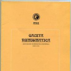 Catálogos y Libros de Monedas: GACETA NUMISMATICA NUMERO 117 AÑO 1995 ( CAT64 ). Lote 295552968