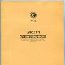 Catálogos y Libros de Monedas: GACETA NUMISMATICA NUMERO 119 AÑO 1995 ( CAT66 ). Lote 295581998