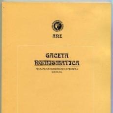 Catálogos y Libros de Monedas: GACETA NUMISMATICA NUMERO 120 AÑO 1996 ( CAT67 ). Lote 295582238