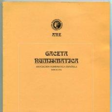 Catálogos y Libros de Monedas: GACETA NUMISMATICA NUMERO 121 AÑO 1996 ( CAT68 ). Lote 295582413