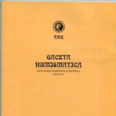 Catálogos y Libros de Monedas: GACETA NUMISMATICA NUMERO 122 AÑO 1996 ( CAT69 ). Lote 295582783