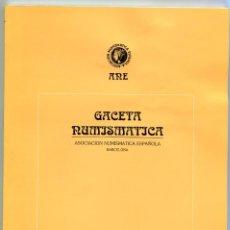 Catálogos y Libros de Monedas: GACETA NUMISMATICA NUMERO 123 AÑO 1996 ( CAT70 ). Lote 295592668