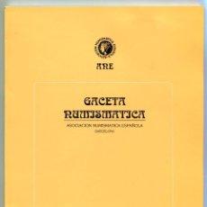 Catálogos y Libros de Monedas: GACETA NUMISMATICA NUMERO 124 AÑO 1997 ( CAT71 ). Lote 295593158