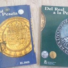 Catálogos y Libros de Monedas: COLECCIÓN DEL REAL A LA PESETA. Lote 296770628