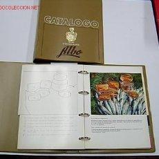 Catálogos publicitarios: ALBO - CONSERVAS DE PESCADO FABRICA DE VIGO - CATÁLOGO CULINARIO Y MUESTRARIO, COCINA PESCA + - 1967. Lote 262552215