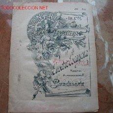 Catálogos publicitarios: CATÁLOGO DE LAMPISTERÍA OBJETOS DE LATÓN DE EUSEBIO ESCAYOA. Lote 24223338