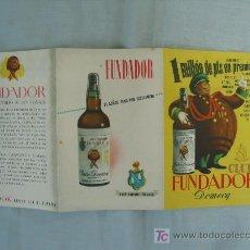 Catálogos publicitarios: PUBLICIDAD FUNDADOR. Lote 13446154
