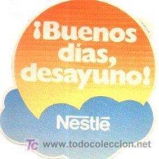 Catálogos publicitarios: 24-ALI5. ADHESIVO BUENOS DÍAS DESAYUNO. NESTLE. Lote 106024374