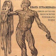Catálogos publicitarios: CATÁLOGO DE LA SUBASTA EXTRAORDINARIA DE SOLER Y LLACH, CELEBRADA EN BARCELONA EL 29 DE MAYO DE 2007. Lote 26787873
