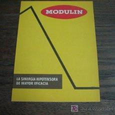 Catálogos publicitarios: MODULIN PUBLICIDAD DE MEDICINA ANTIGUA. Lote 5567116