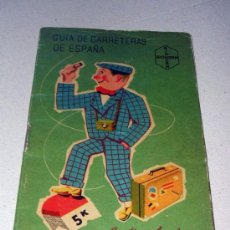 Catálogos publicitarios: ANTIGUA GUIA DE CARRETERAS DE ESPAÑA - BIODRAMINA. Lote 12321397