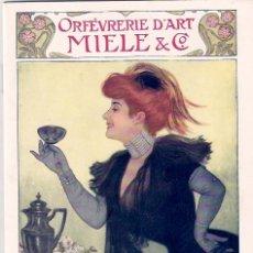 Catálogos publicitarios: CATÁLOGO PUBLICITARIO MODERNISTA. 1910.. Lote 22586621