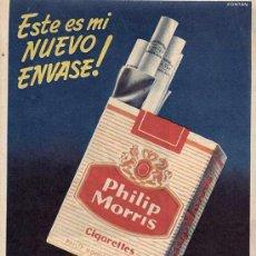 Catálogos publicitarios: PUBLICIDAD. ANUNCIO DE TABACO PHILIP MORRIS. . Lote 6433235