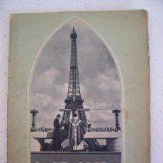 Catálogos publicitarios: LA FRANCIA CATÓLICA (IMPRIMIDO PARA Y POR LA SOCIEDAD NACIONAL DE LOS FERROCARRILES FRANCESES, 1950). Lote 20565037